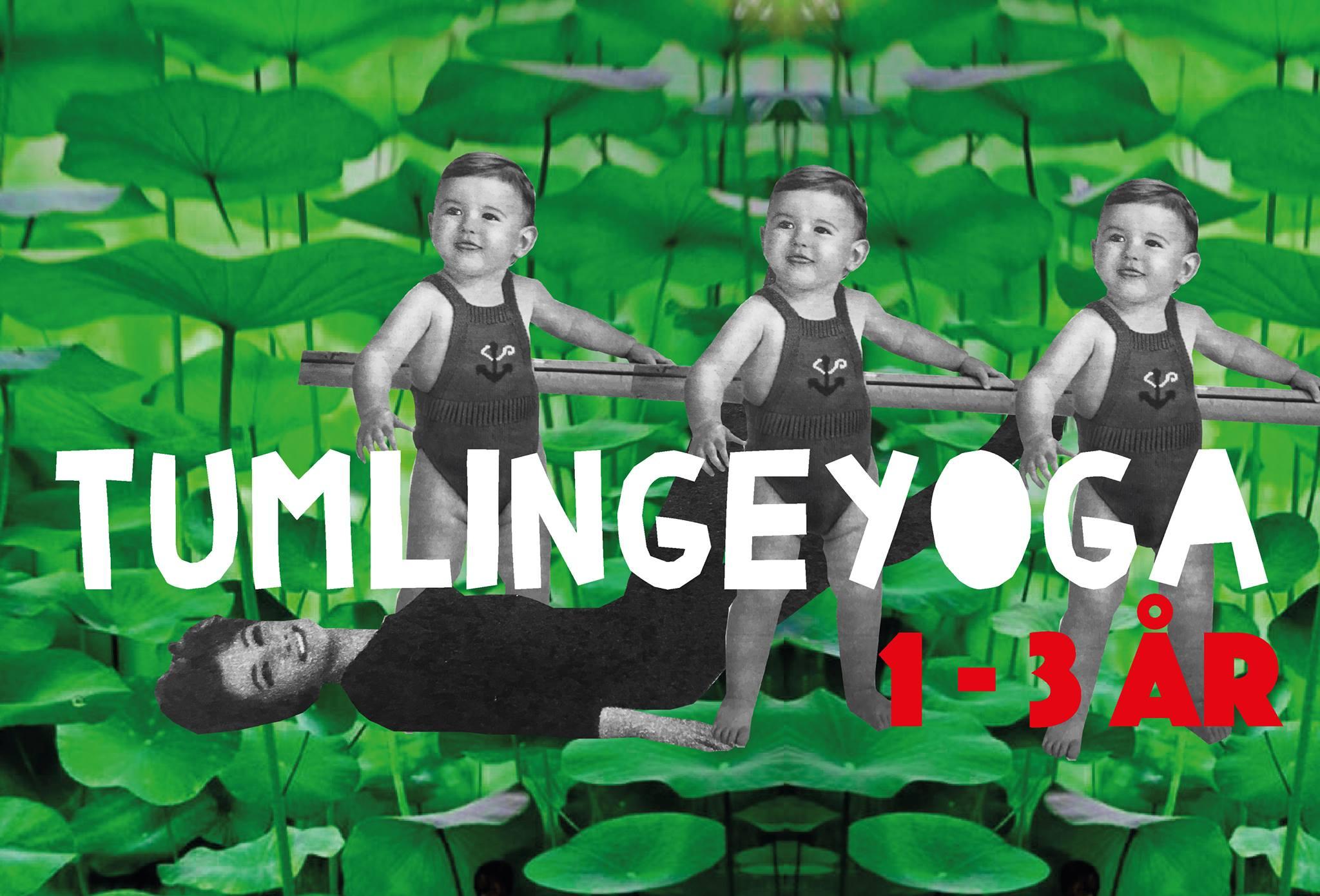 64b10e3a74c Fra 11:15 til 12:00Tumlingeyoga for 1-3 årige hver torsdag kl. 11.15 i  Absalon. Det er legende og sjov yoga for børn og voksne.